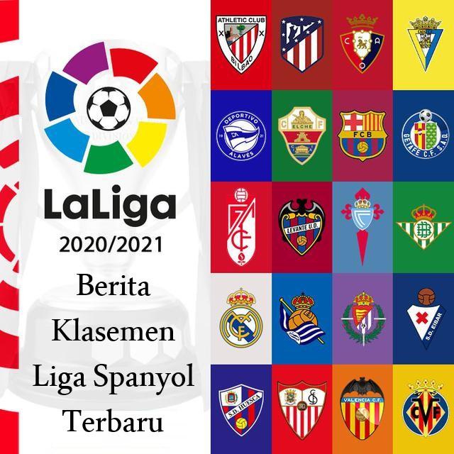 Berita Klasemen Liga Spanyol Terbaru