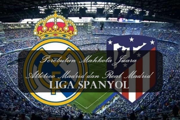 Perebutan Mahkota Juara Atletico Madrid dan Real Madrid